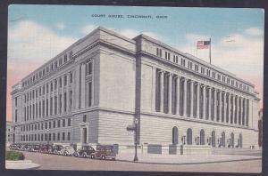 Cincinnati, OH  Court House c 1945