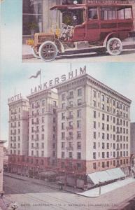 LOS ANGELES , California , 00-10s; Hotel Lankershim & Bus