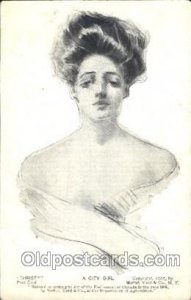 Artist Signed Howard Chandler Christy, A City Girl Unused