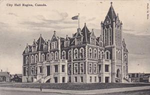 City Hall , Regina , Saskatchewan , Canada , 1910