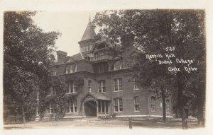 RP: CRETE , Nebraska , 1900-10s ; Merrill Hall Doane College