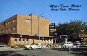 Mid Town Motel Great Falls MT Unused