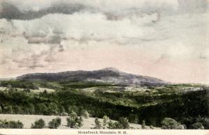 NH - Mt Monadnock.