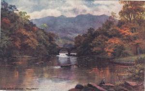 TUCK # 7260 , KILLARNEY Series II , Ireland , 00-10s ; Old Weir Bridge