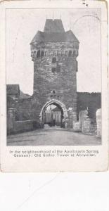 In The Neighbourhood Of The Apollinaris Spring, Old Gothic Tower At Ahrweiler...