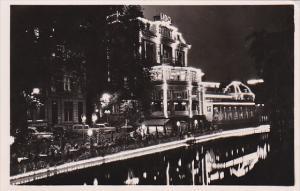 RP; Night view, Cafe-Restaurant LIDO, Bar-Terras, Amsterdam, North Holland,...