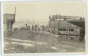 RPPC An Unidentified Construction site of Some Sort,  Velox (1907-1917) RP