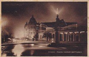 FOGGIA, Puglia, Italy , 00-10s ; Piazza Cavour (Notturno)
