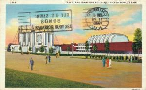 USA Travel and Transport Building Chicago World's Fair 01.61