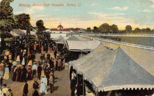 LPS85 BEREA Ohio Midway Berea Fair Grounds Postcard