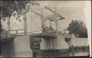 indonesia, BATAVIA JAKARTA, Hoenderpasarbrug (1920s) RPPC