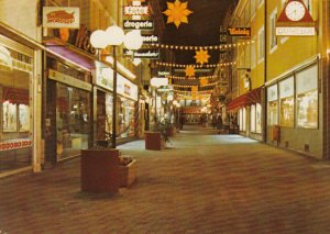 LANDAU in der Pfalz, Germany , 1950-70s; Gerberstrasse, Store Fronts