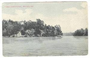 Scenic view of Loyola, Chain O'Lakes, Waupaca, Wisconsin, PU-1908