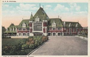 C.P. Railroad Station , Quebec , Canada , 00-10s