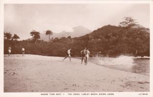 RP: LUMLEY BEACH, Sierra Leone, Africa, 1920-1940s;
