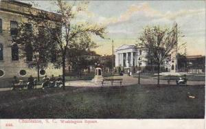South Carolina Charleston Washington Square 1909