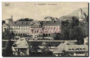 Old Postcard Chambery La Prefecture