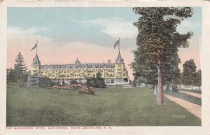 WHITE MOUNTAINS, New Hampshire, 1900-1910's; The Maplewood Hotel
