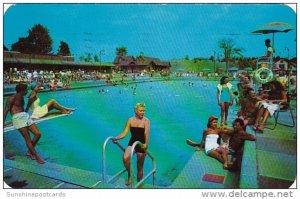 Olympic Pool Grossinger's Resort Grossinger New York 1955