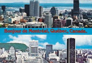 Canada City View From Mount Royal Pook-Out Montreal