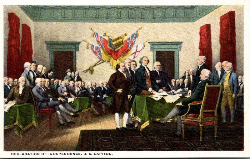 Washington D C Declaration Of Indepenence