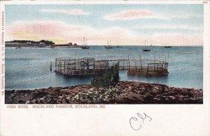 Fish Weir Rockland Harbor Rockland Maine