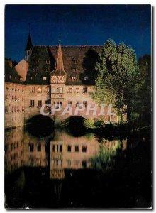 Postcard Modern Nurnberg Hospital of Saint Spirit