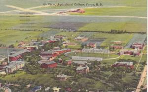 Air View, Agricultural College, Fargo, North Dakota, 1930-40s