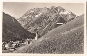 Mittelberg / Kleinwalsertal 1218 m, mit Gemstelpass 1977 m, Widderstein