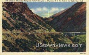 Stillman Memorial Bridge - Salt Lake City, Utah