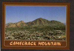 AZ Downtown Phoenix Arizona Postcard Camelback Mtn Mountain