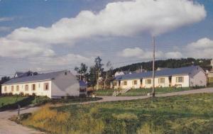 Exterior, Baker (Terrace) Motels,  Gaspe, Quebec,  Canada,  40-60s