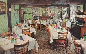 Ohio Brecksville Interior Century Dining Room Ye Olde Stage House
