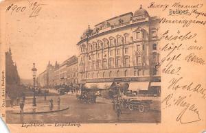 Budapest Republic of Hungary Lipot Korut Budapest Lipot Korut