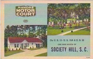 South Carolina Society Hill Manors Motor Court