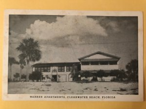 Vintage Warren Apartments on Clearwater Beach, Florida