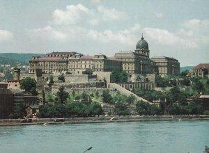 POSTAL B8542: BUDAPEST: VISTA AEREA DEL CASTILLO