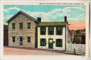 Museum & Boyhood Home of Mark Twain, Hannibal MO