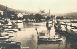 Italy Abbazia RPPC 03.45