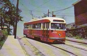 Trolley Pittsburgh Railways PCC Car 1635