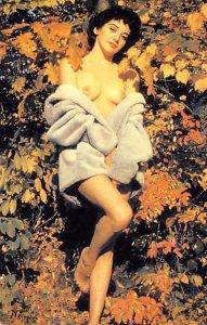 Nude Woman Risque Unused