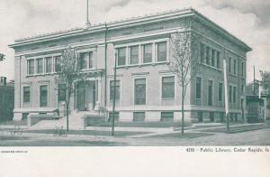 CEDAR RAPIDS, Iowa, 1901-07; Public Library