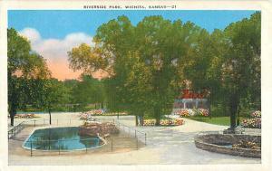 Riverside Park in Wichita KS Kansas Linen