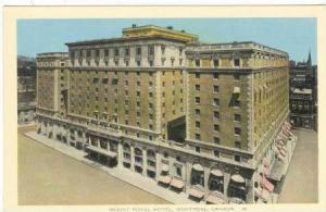 Mount Royal Hotel,  Montreal, Quebec, Canada 00-10s