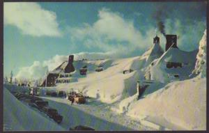 Timberline Lodge,Mt Hood,OR Postcard