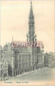 Old Postcard Brussels - City Hotel