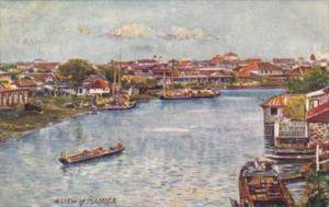 Philippines Manila Pasig River Scene Tucks