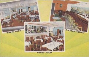 Pennsylvania Irwin The colonial Manor Hotel Dining Room And Cocktail Lounge
