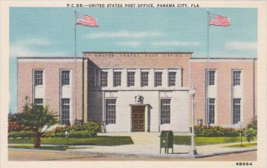 United States Post Office Panama City Florida