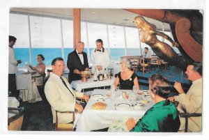 Fort Lauderdale FL Restaurant Yankee Clipper Dining Room Gill Hotel Postcard